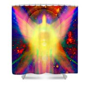 Healing With Light  Shower Curtain