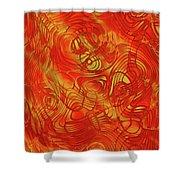 Heatwave Shower Curtain