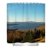 Height Of Land In Maine Shower Curtain by Jeff Folger