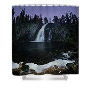 Hepokongas Waterfall Shower Curtain