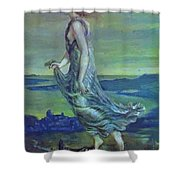 Hesperus The Evening Star 1870 Shower Curtain