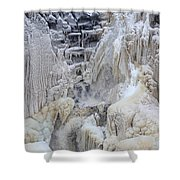 High Falls, Smaller Waterfall Shower Curtain
