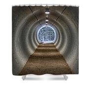 Highway Underpass In Pigeon River Provincial Park Shower Curtain