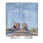 Hill Path In Sunlight, 1892 Shower Curtain