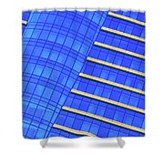 Hilton Blues Shower Curtain