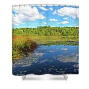 Hint Of Autumn Shower Curtain