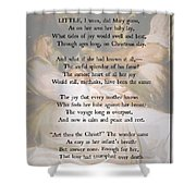 His Mother's Joy Shower Curtain
