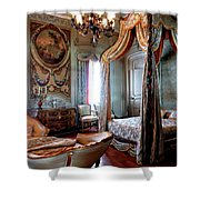 Historic Bedroom Shower Curtain
