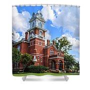 Historic Gwinnett County Courthouse Shower Curtain by Doug Camara