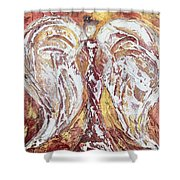 Morning Angel Shower Curtain