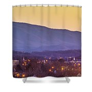 Holston Mountain Over Tennessee High Shower Curtain
