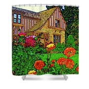 Home And Garden Shower Curtain