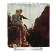 Honeymoon Shower Curtain
