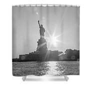 Hopeful We The People Shower Curtain