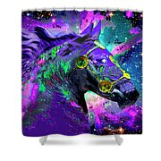 Horse Head Nebula II Shower Curtain