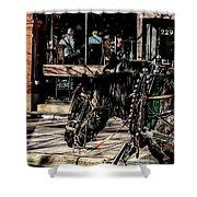 022 - Horses Shower Curtain