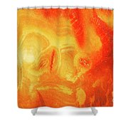 Hot Skull Shower Curtain