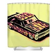 Hot Wheels Shower Curtain