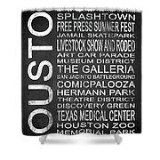 Houston Tx 6 Shower Curtain