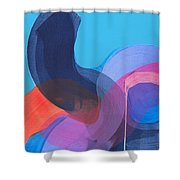 How Did It Get To Be So Late? Shower Curtain