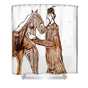 How The Camel Got His Hump Digital And Drawings D4-1 Shower Curtain