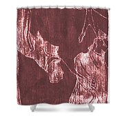 How The Camel Got His Hump Oil Otd Painting 28 Shower Curtain