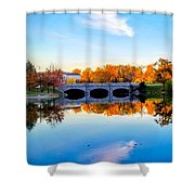 Hoyt Lake Shower Curtain