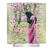 Scent Of Magnolia Shower Curtain