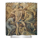 Hunting Fields Shower Curtain