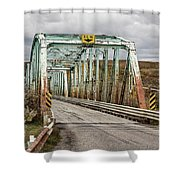 Hwy 552 Bridge Shower Curtain