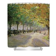 Hyde Park, London, 1890 Shower Curtain