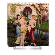Hymn To Spring Shower Curtain