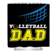 I Love Volleyball Team Player Ball Shower Curtain