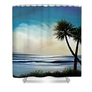 I Sea Shower Curtain by Mark Taylor