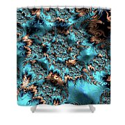 Icy Peaks Shower Curtain