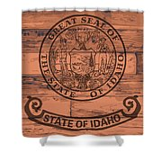 Idaho State Flag Brand Shower Curtain