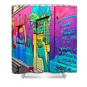 If You Love Graffiti  Shower Curtain