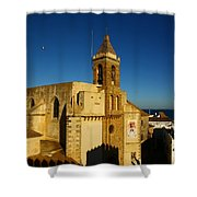 Iglesia De La O, Rota, Spain Shower Curtain