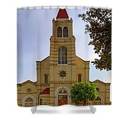 Immaculate Heart Of Mary Church - San Antonio - Texas Shower Curtain by Jason Politte