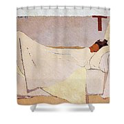 In Bed - Digital Remastered Edition Shower Curtain