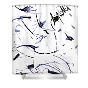 In Step Shower Curtain