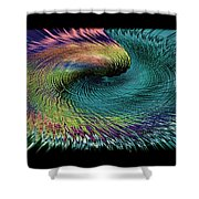 In The Eye Of The Storm II Altered  Shower Curtain