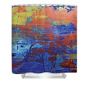 In The Horizon L Shower Curtain