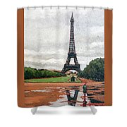 In The Summer When It Sizzles? Shower Curtain