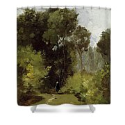 In The Woods, 1864 Shower Curtain