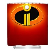 Incredibles 2 Shower Curtain