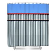 Industrial Minimalism 29 Shower Curtain