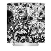 Industry Iron Shower Curtain