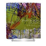 Inner Faith Shower Curtain by Kate Word