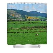 Innerleithen In The Tweed Valley Shower Curtain